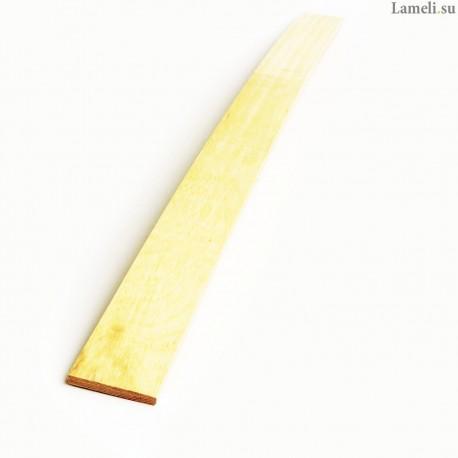 Ламель -- длиной 89 см , шириной 6 см, толщиной 8 мм