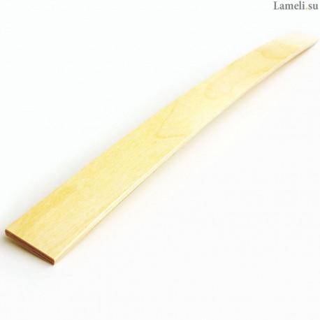 Ламель - длиной: 87 см, шириной: 5 см, толщиной: 8 мм